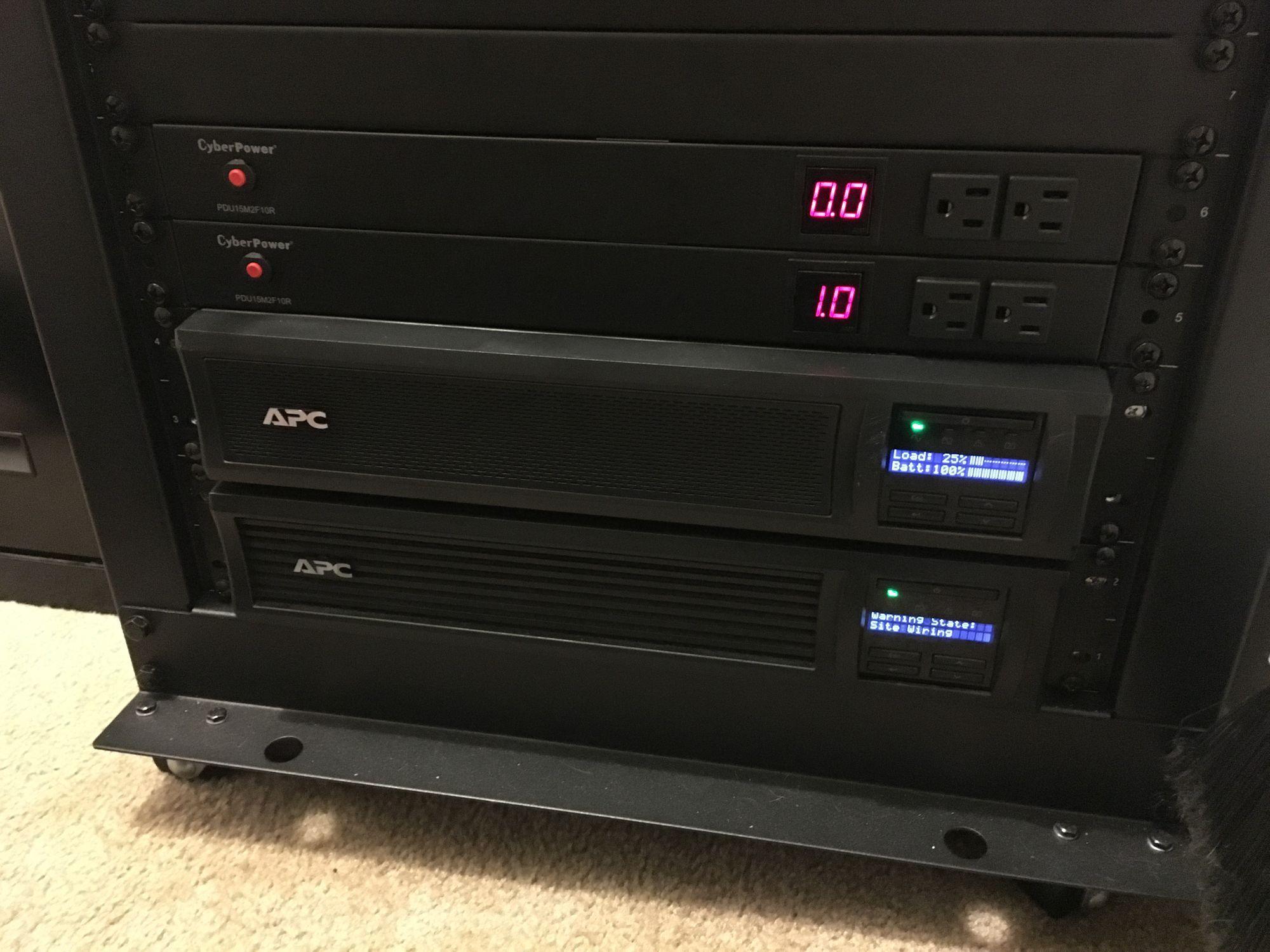 Homelab power upgrade